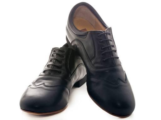 Regina Tango shoes uomo scarpa zapatos pelle nero stringata da ballo milonga tango Torino Tangosolar esclusiva