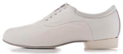 Regina Tango shoes | Modello Forte - Realizzata in pelle, disponibile nel colore Bianco. Morbidissima, suola in cuoio - Tacco: 2,5 cm Tangosolar calzature uomo tango esclusiva Torino scarpe zapatos