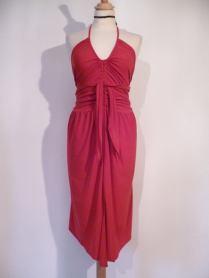 Ineditotango abito da sera abito da ballo esclusiva TangoSolar Torino Abito Unico Lycra rosso