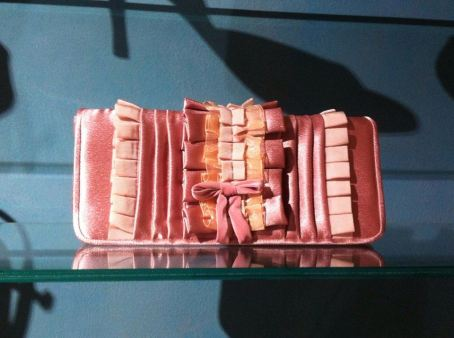 TangoSolar Accessori esclusiva Torino borsetta da sera Pochette Mod. Anemone Rosa