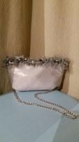 TangoSolar Accessori Pochette borsetta da sera gran ballo preziosa esclusiva grigio