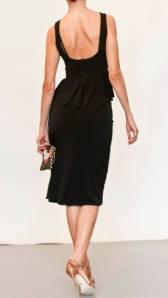 Regina Tango Wear completo vinaccia top lycra gonna nera scarpe tacco alto per ballare completo da sera esclusiva Torino TangoSolar