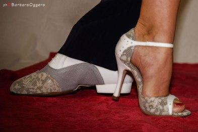 Regina Tango Shoes Scarpe tango zapatos bianco pizzo marcelo ramer selva mastroti
