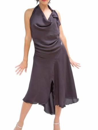TangoSolar Torino viscosa abiti gonna top completi per ballare Ineditotango lycra vinaccia abbigliamento