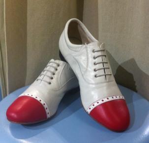 Regina Tango Shoes Uomo Mod. Paolo bicolore scarpe ballo scarpe da tango maschile