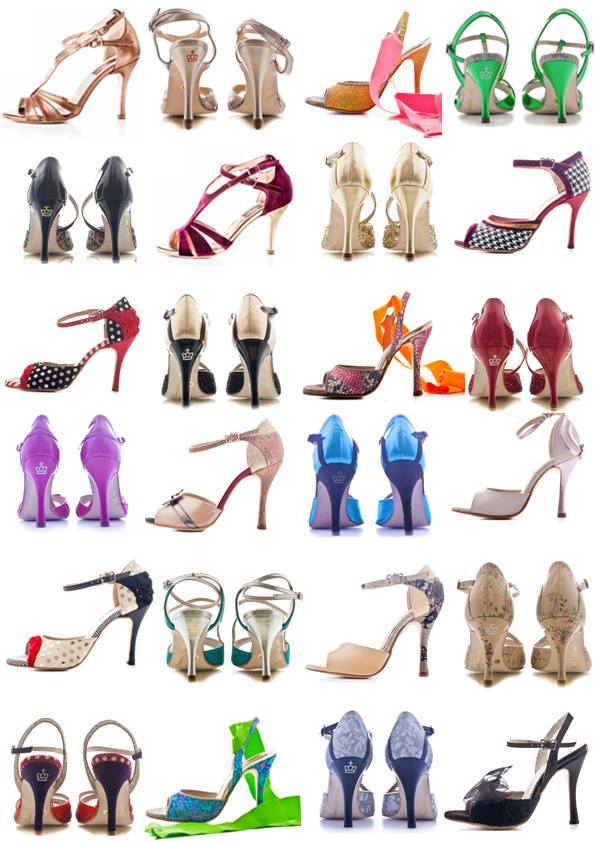 Regina Tango Shoes Torino TangoSolar ballare tango scarpe Torino esclusiva