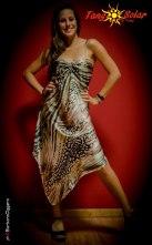 TangoSolar abito fantasia animalier da ballo da sera da cerimonia esclusiva Torino