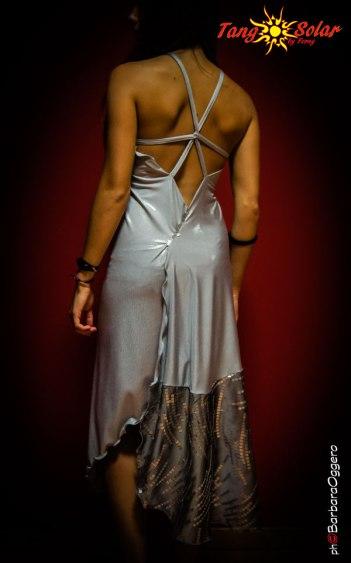 TangoSolar vestito schiena scoperta da sera Tango cerimonia negozio esclusivo Torino