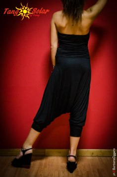 TangoSolar tuta nera negozio Torino esclusiva Tango vestiti da sera tempo libero cerimonia