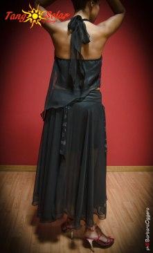 TangoSolar completo nero pizzo top gonna pantalone da sera Tango cerimonia negozio esclusivo Torino