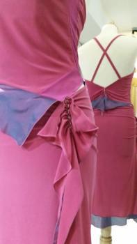 TangoSolar completo gonna top fucsia viola negozio Torino esclusiva Tango vestiti da sera tempo libero cerimonia