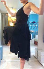 Completo Ambra Ineditotango TangoSolar Torino negozio abbigliamento Tango da sera da cerimonia esclusiva abito