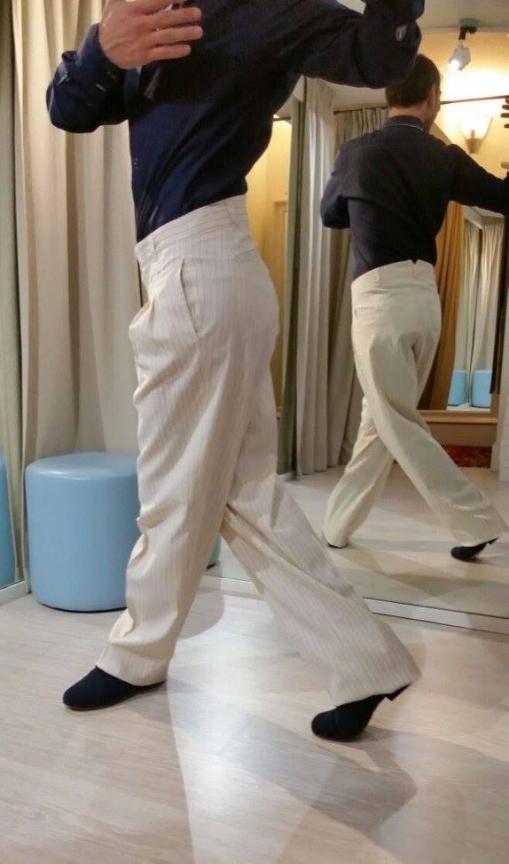 Ineditotango Pantalone Uomo TangoSolar torino abbigliamento tango tempo libero da sera