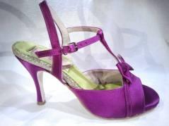 Regina Tango Shoes Modello Kyoto fucsia scarpe da Tango da sera coi tacchi alti