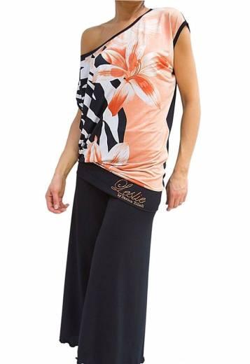 Top Sunshine fantasia - Pantalone temptations nero Tangosolar abbigliamento torino
