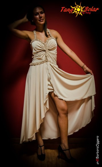 Abito Angela vestito Tangosolar esclusiva da sera cerimonia tempo libero tango torino