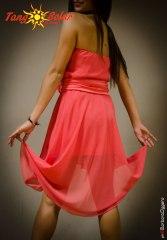 TangoSolar abito rosso da tango cerimonia sera esclusiva torino
