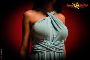 TangoSolar abito torino tango aldobaraldo esclusiva da sera cerimonia verde acqua