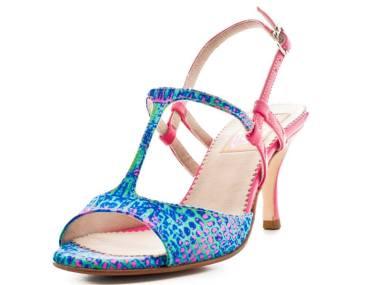 Regina Tango Shoes - Amy fantasia fuxia tangosolar torino esclusiva negozio abbigliamento calzature tango tacco basso
