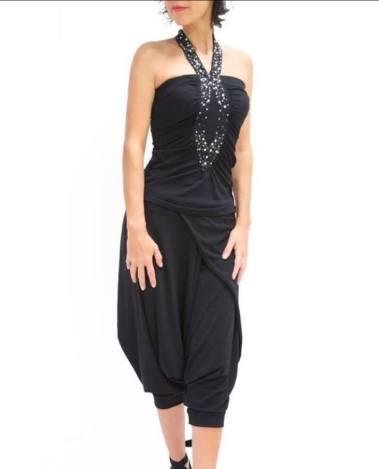 Top Mi Querida nero Pantalone Amor Gaucho nero Tangosolar abbigliamento tango torino