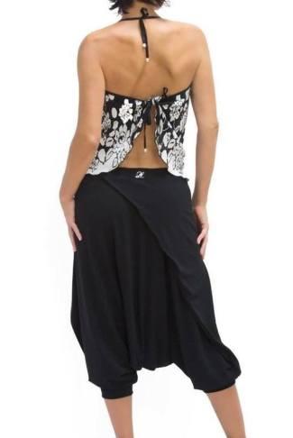 Pantalone Amor Gaucho nero Tangosolar abbigliamento tango torino