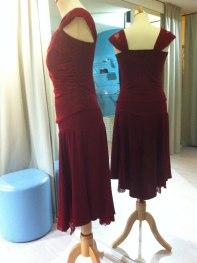 neditotango abito rosso rubino tangosolar esclusiva abbigliamento completo tango torino