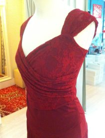 ineditotango abito ciniglia rosso tangosolar esclusiva torino abbigliamento tango milonga