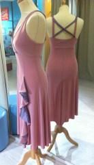 ineditotango abito rosa tangosolar torino esclusivo abbigliamento