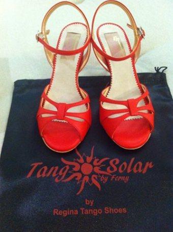 Regina Tango Shoes rosse 2