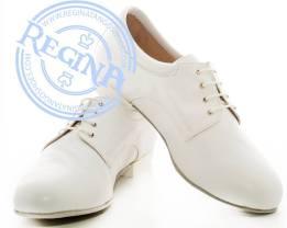 Regina Tango Shoes uomo bianco negozio esclusiva torino tangosolar zapatos tango milonga aldobaraldo