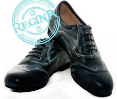 Regina Tango Shoes uomo nero negozio esclusiva torino tangosolar zapatos tango milonga aldobaraldo