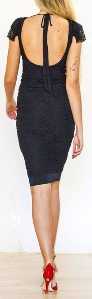 Regina Tango Shoes Wear abito pizzo dietro negozio torino tangosolar tango milonga eleganza femminilità