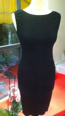 abito beatrice nero tangosolar negozio torino abbigliamento esclusivo da sera eventi