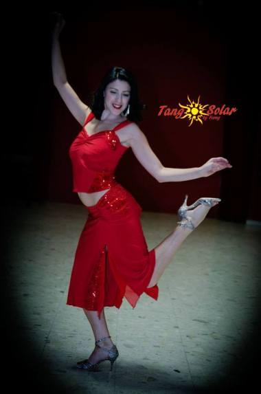 completo rosso ineditotango torino tango tangosolar negozio aldobaraldo ballare milonga