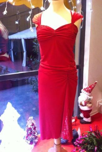 ineditotango abito rosso davanti tangosolar torino completo tango ballare milonga