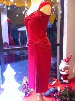 ineditotango abito rosso lato tangosolar torino completo tango ballare milonga