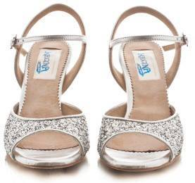 regina tango shoes donna argento paillettes