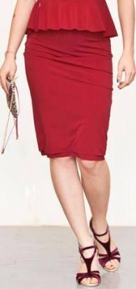 regina tango wear gonna rossa