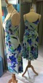 tangosolar negozio abbigliamento torino abito floreale lato