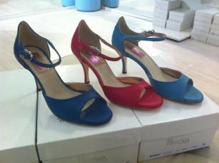regina tangoshoes ciliegia blu tangosolar negozio abbigliamento calzature tango esclusivo artigianale