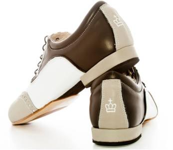regina tangoshoes uomo chiare beige marrone bianche scarpe da ballo tango tacco comode morbide suola