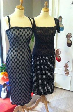 tangosolar abiti bianco nero negozio abbigliamento made in italy artigianale
