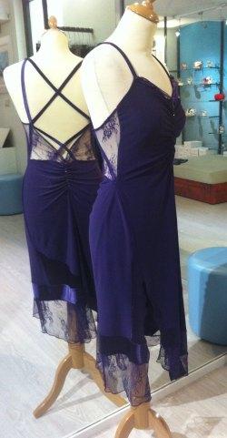 tangosolar ineditotango abito blu viola negozio torino esclusiva vendita abiti donna eleganza