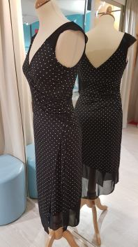 ineditotango agata tangosolar abbigliamento made in italy torino nero pois bianchi