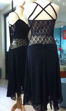 ineditotango nero pizzo tangosolar negozio abbigliamento esclusivo torino piemonte tango milonga aldobaraldo