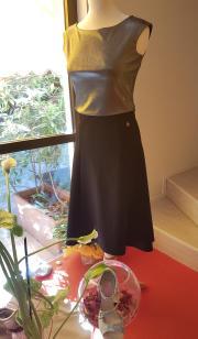 regina completo oro bronzo tangosolar torino abbigliamento esclusiva gonna top