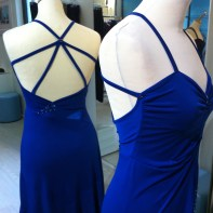tangosolar ineditotango abito blu