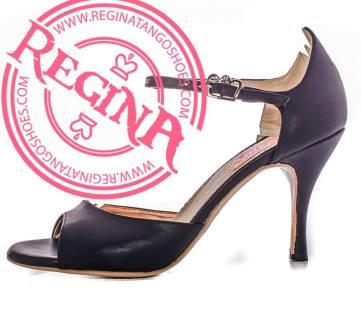 regina tango shoes scarpe donna ballare nero pelle tacco alto basso comodo qualità torino esclusiva