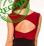 regina tango shoes wear top rosso schiena scoperta