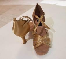 scarpe-balli-latini-oro